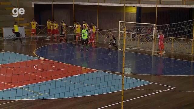 Gols das semifinais da 12ª Copa TV Asa Branca de Futsal