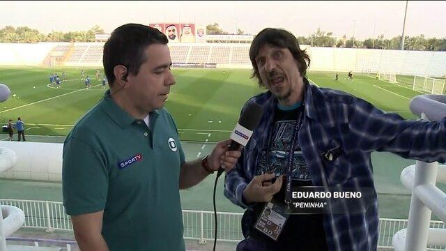 Peninha acompanha Grêmio no Mundial de Clubes