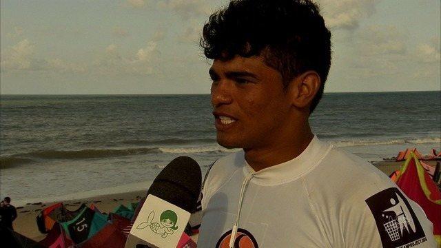 BB se destaca no Mundial de kitesurfe na Praia do Cumbuco, no Ceará