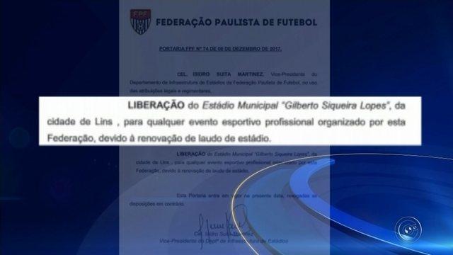 Estádio Gilbertão renova laudos e é liberado pela Federação Paulista de Futebol