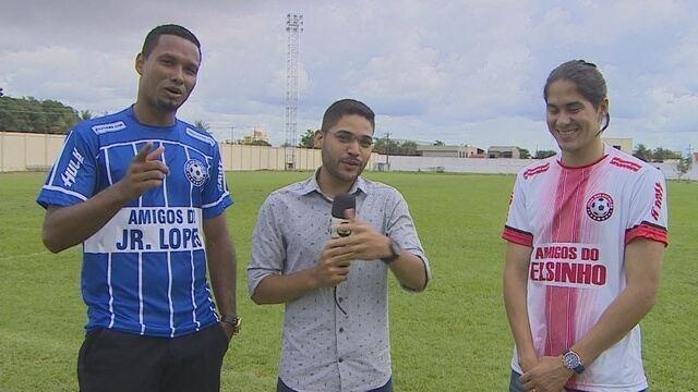 Elsinho e Jr. Lopes promovem o jogo das Estrelas do futebol de Rondônia no dia 22