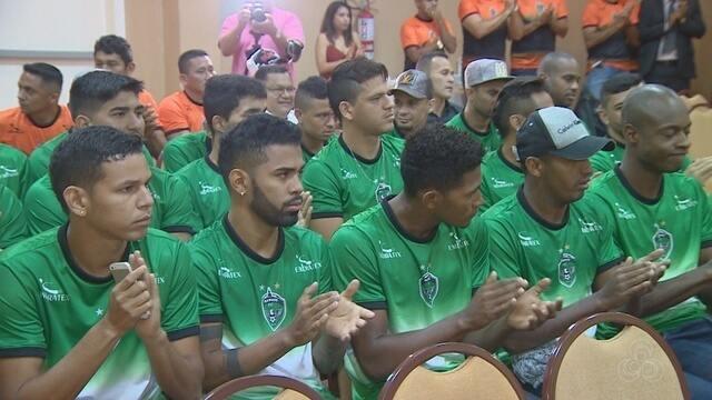 Manaus FC apresenta elenco para a temporada 2018