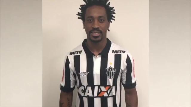 Arouca é confirmado no Atlético-MG e manda recado pra torcida