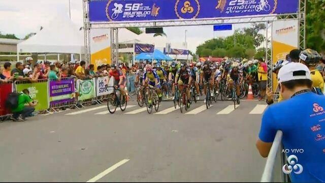 Confira a largada das ciclísticas Aguinaldo e Amélia Archer Pinto