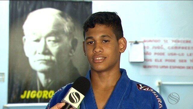 Após dificuldade, sergipano ganha apoio e disputa Campeonato Brasileiro de Base de judô