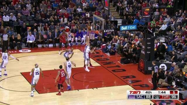 Melhores momentos: Toronto Raptors 108 x 93 Sacramento Kings pela NBA