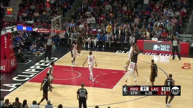 Melhores momentos: Houston Rockets 102 x 113 Los Angeles Clippers pela NBA