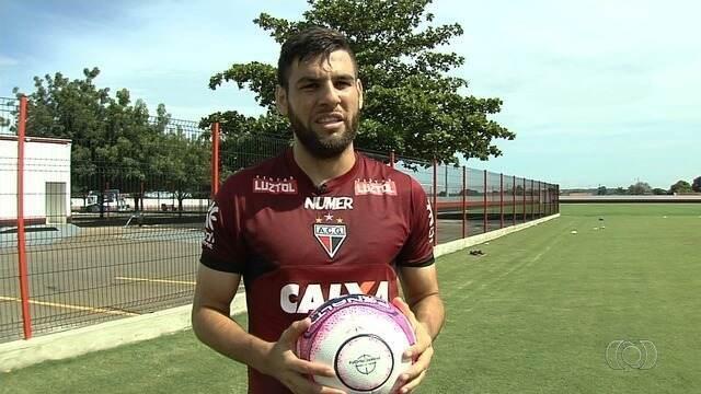 Remanescente de 2017, William Alves projeta ano do Atlético-GO