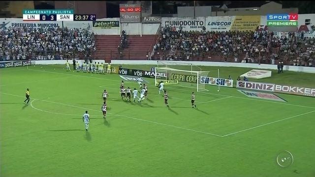 Na estreia de Jair Ventura, Santos vence o Linense com tranquilidade