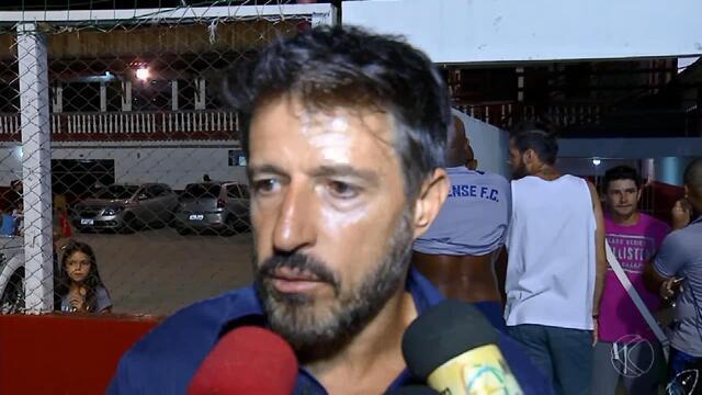 Ramon Menezes antecipa dificuldade para série de jogos fora de casa
