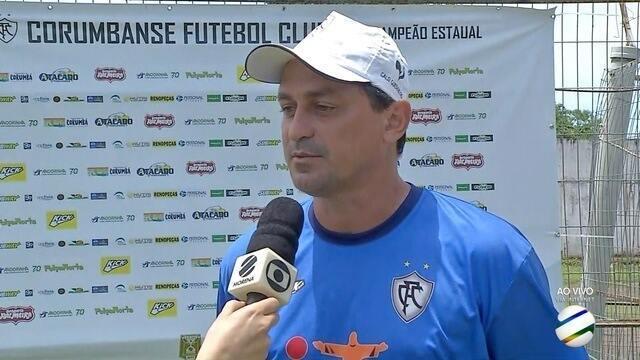 Corumbaense estreia na Copa Verde de Futebol neste domingo