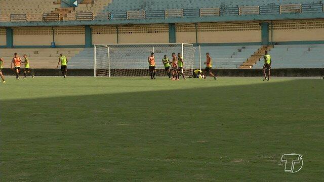 São Raimundo intensifica treinos para duelo contra o Bragantino pela 2ª rodada do Parazão