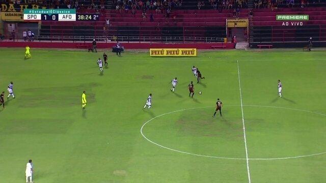Gabriel marca o segundo gol do Sport contra o Afogados