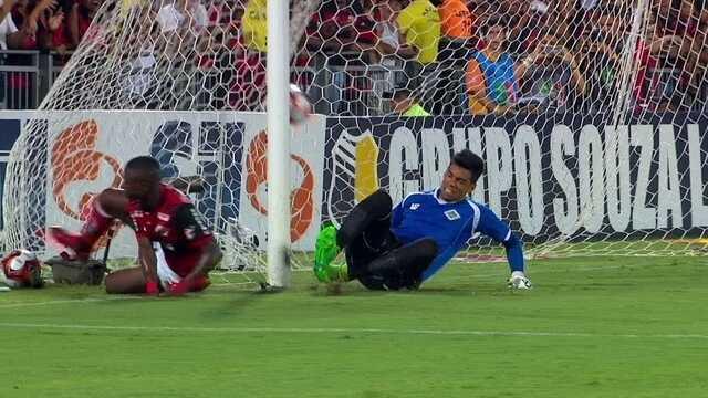 O gol de Flamengo 1 x 0 Cabofriense pela 2ª rodada do Carioca