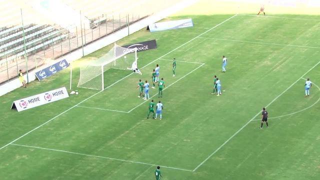Gol de falta de Maiqui que garantiu a vitória do Bolamense por 2 a 1 em cima do Gama
