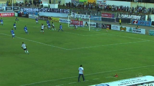 Ceará perde para o Iguatu por 2 a 1