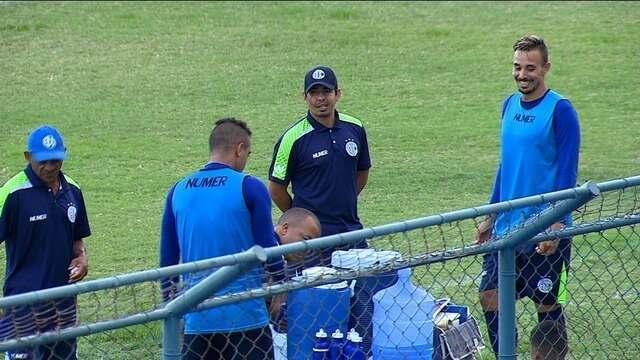 Confiança se reforça e treina focado no clássico do próximo domingo contra o Sergipe
