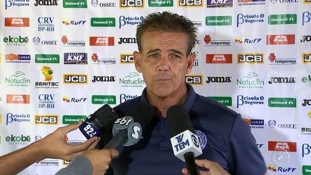 São Bento treina para duelo contra o Botafogo-SP pelo Paulistão