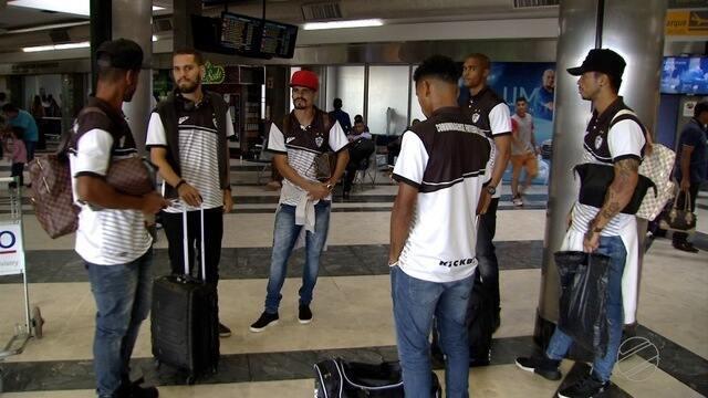 Jogadores do Operário voltam a MS depois de perder para Cuiabá