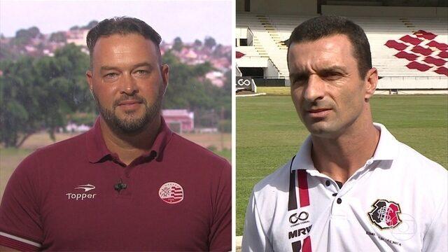 Fãs de Simeone, Júnior Rocha e Roberto Fernandes revelam diferenças de estilo