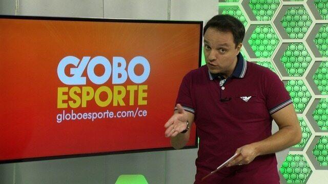 Confira a íntegra do Globo Esporte - 17/02/2018