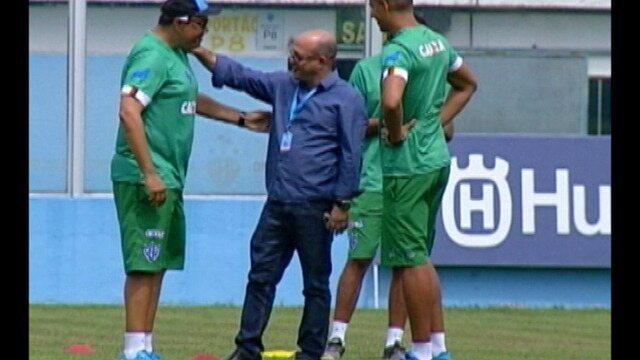 Paysandu encerra preparação para encarar o Parauapebas