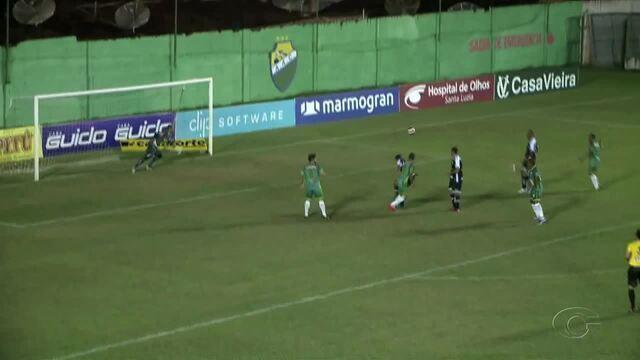 Veja o gol do Coruripe sobre o ASA, na abertura da 6ª rodada do Alagoano