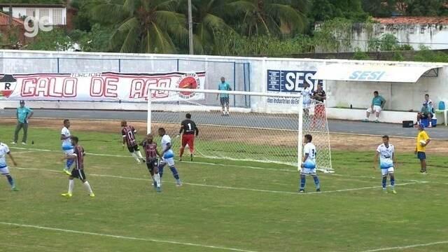 Assista aos melhores momentos de Parnahyba 0 x 0 River-PI pelo Piauiense