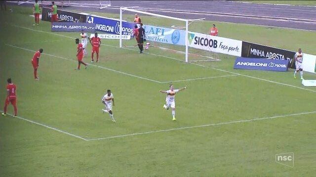 Brusque vence o Inter fora de casa e afunda o time de Lages na lanterna ao fim do turno