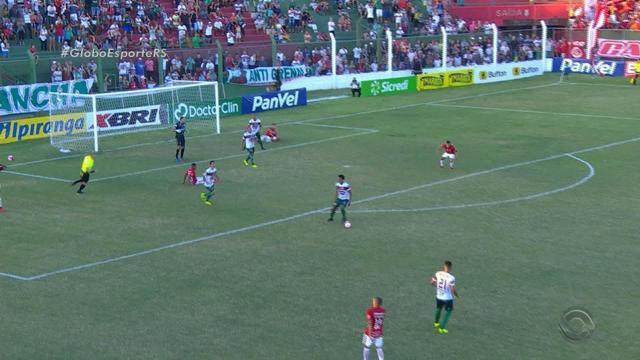 Internacional tem dificuldades em jogo contra o São Paulo de Rio grande