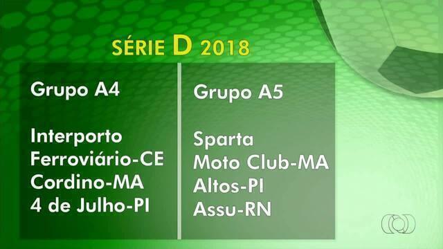 CBF divulga grupos da Série D 2018; confira