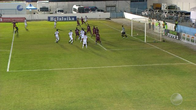 Veja o gol de Jacuipense 0 x 1 Vitória