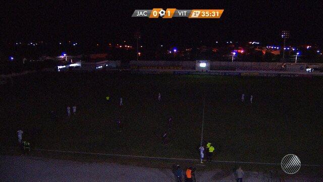 Veja os melhores momentos de Jacuipense 0 x 1 Vitória