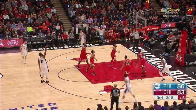 Melhores momentos: Sixers 116 x 115 Bulls pela NBA