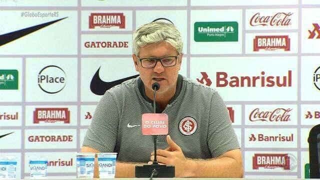 Odair Hellmann completa dez jogos como técnico do Internacional