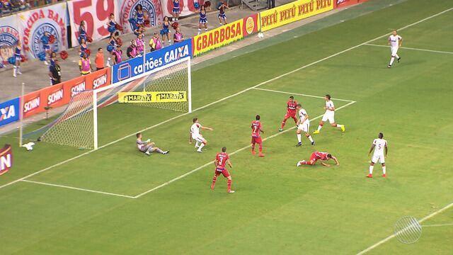 Bahia vence o Náutico e garante vaga para a segunda fase da Copa do Nordeste