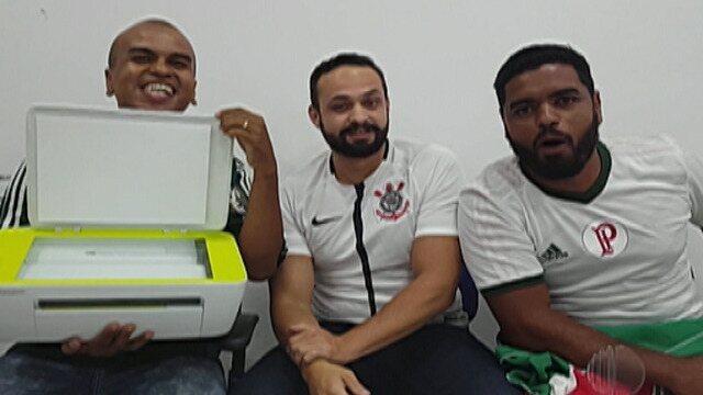 Resenha: Garotinhos fazem aposta para o clássico entre Corinthians e Palmeiras