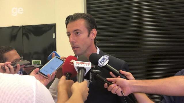 Árbitro Raphael Claus comenta partida entre Corinthians e Palmeiras