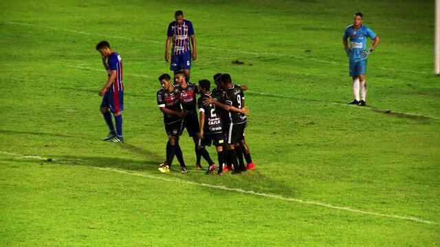 River-PI goleia o Piauí e clássico e assume a liderança do Piauiense 2018; veja os gols
