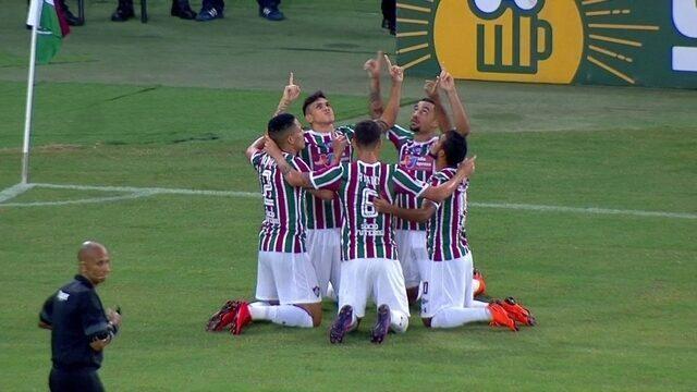 Os gols de Fluminense 2 x 1 Nova Iguaçu pela 5ª rodada da Taça Rio