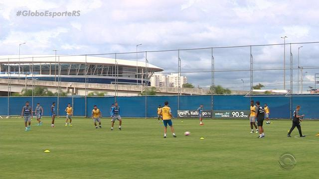Grêmio tem semana livre para treinar e preparar equipe para clássico Gre-Nal
