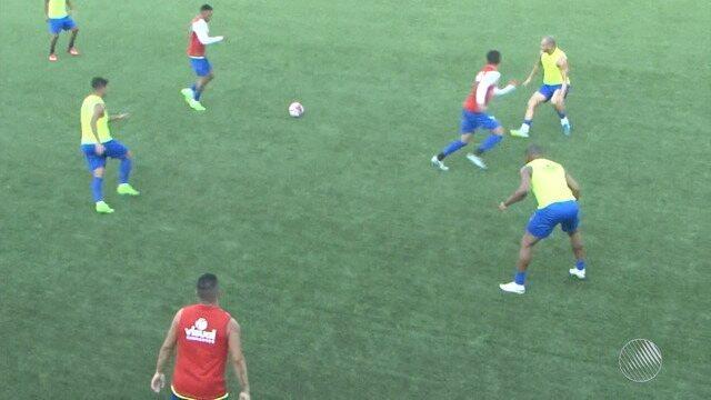 Bahia de Feira segue motivado para duelo contra o Vitória na reta final do Baianão