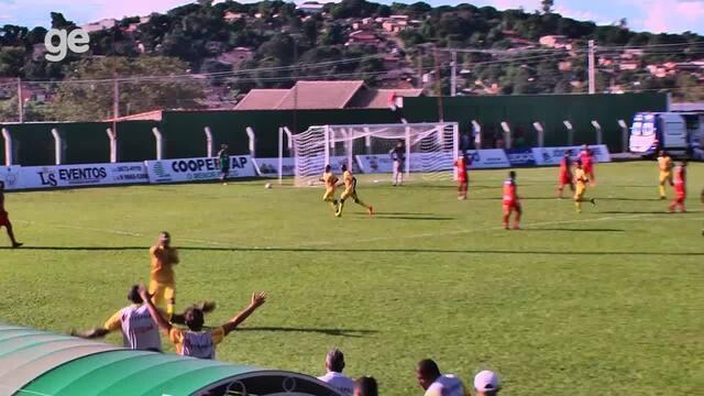 Os gols de Paracatu 0 x 2 Brasiliense pelas quartas de final do Campeonato Brasiliense