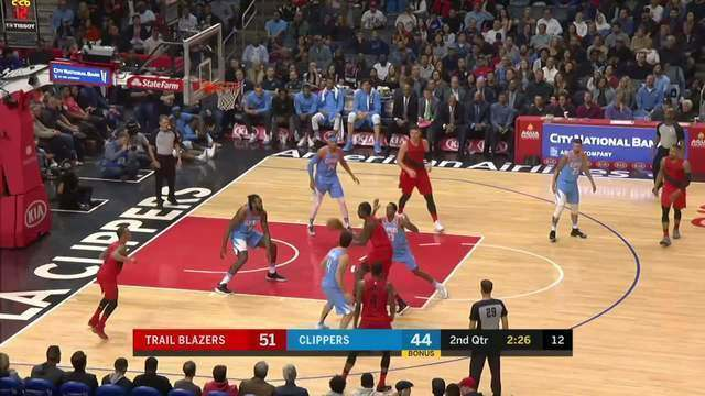Melhores momentos: Portland Trail Blazers 122 x 109 Los Angeles Clippers pela NBA