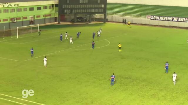 Veja os gols da vitória do Atlético-AC por 2 x 0 sobre o Humaitá, pela 2ª rodada grupo A