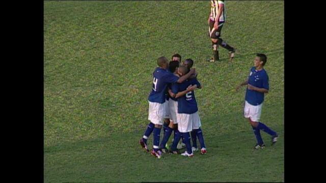 Tupi 2 x 7 Cruzeiro, quartas de final, Campeonato Mineiro 2009