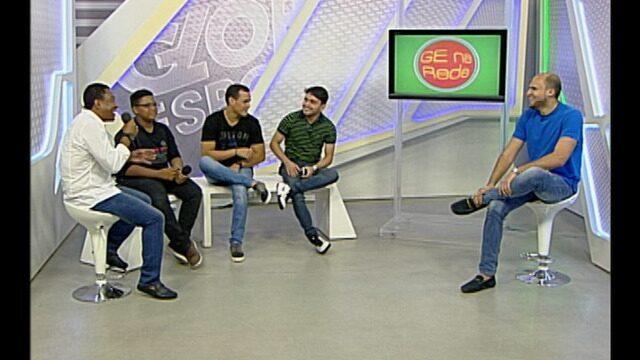 GE na Rede recebe Pedro Sousa, do The Voice Kids, e o técnico Rogerinho Gameleira