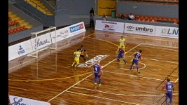 Shouse estreia na Liga Nacional de Futsal diante do São José-SP