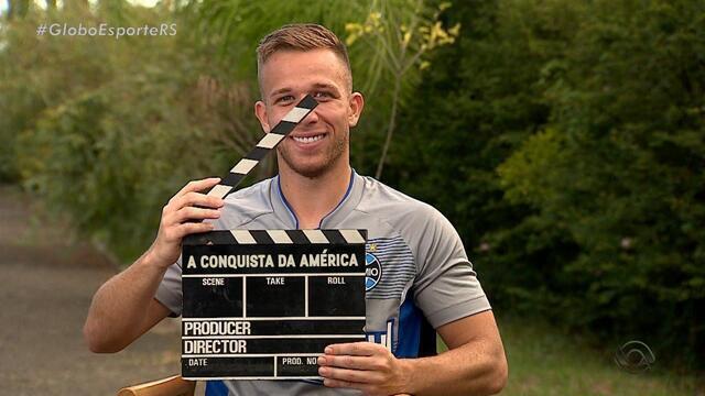 Arthur vive filme com roteiro de cinema no Grêmio e se espanta com venda ao Barça