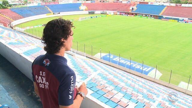 Com atacante Nicolas como titular, Caxias não perde um jogo desde julho de 2016